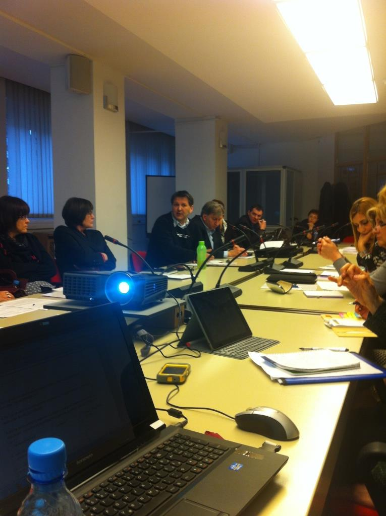 11 March 2014 Mission of WHO & SECID and Workshop in Sarajevo