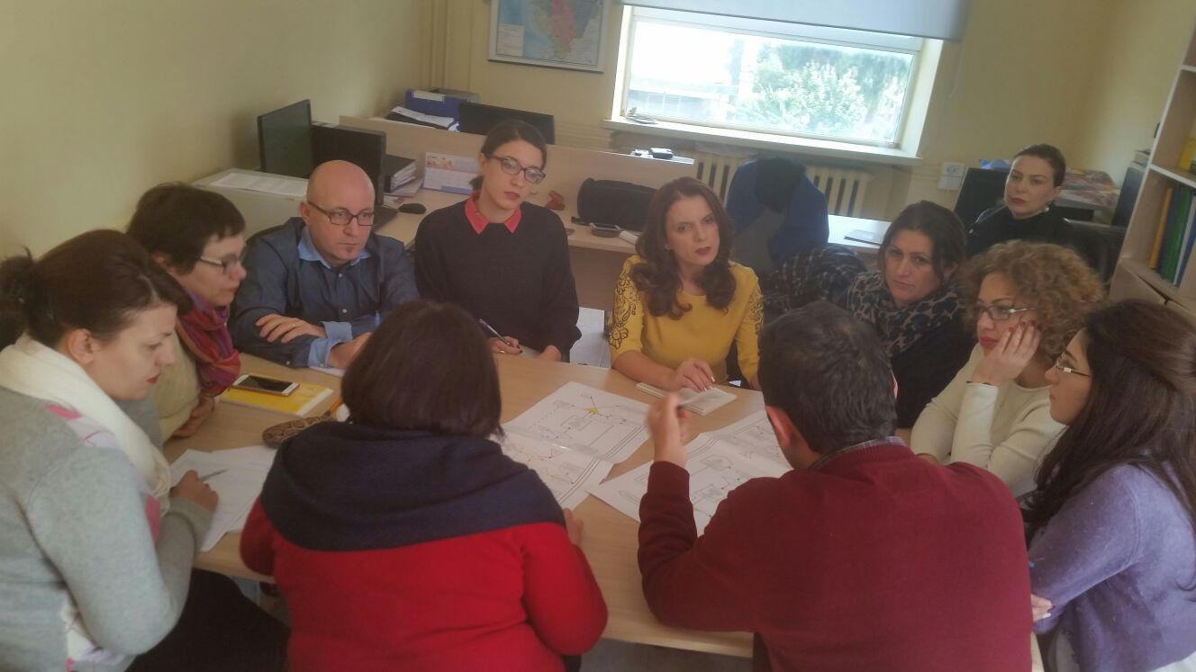 Discussion among epidemiologists of IPH,  Albania in the meeting of 23 January 2017