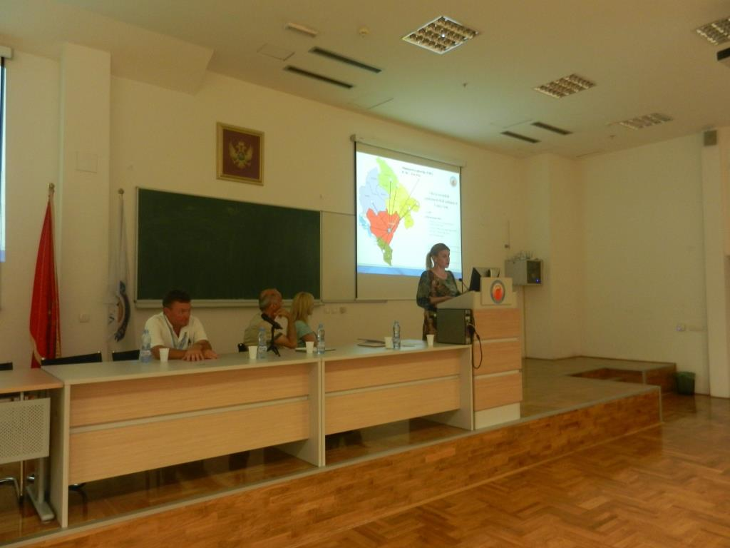 Montenegro, Annual Influenza Meeting of Vet and IPH, 16 June 2015