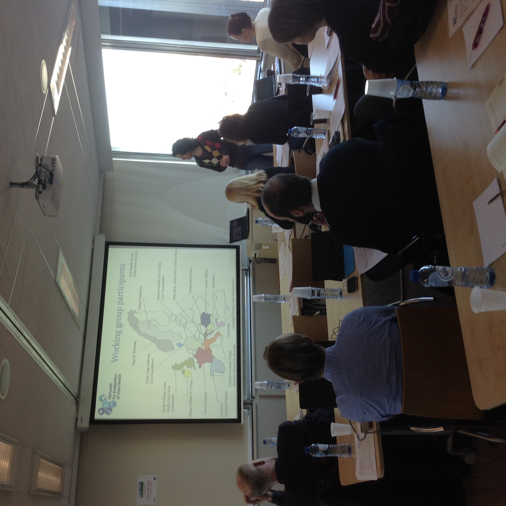 Network for Evaluation of One Health (NEOH) Stakeholder Meeting on 17th February 2016, Brussels, Belgium.