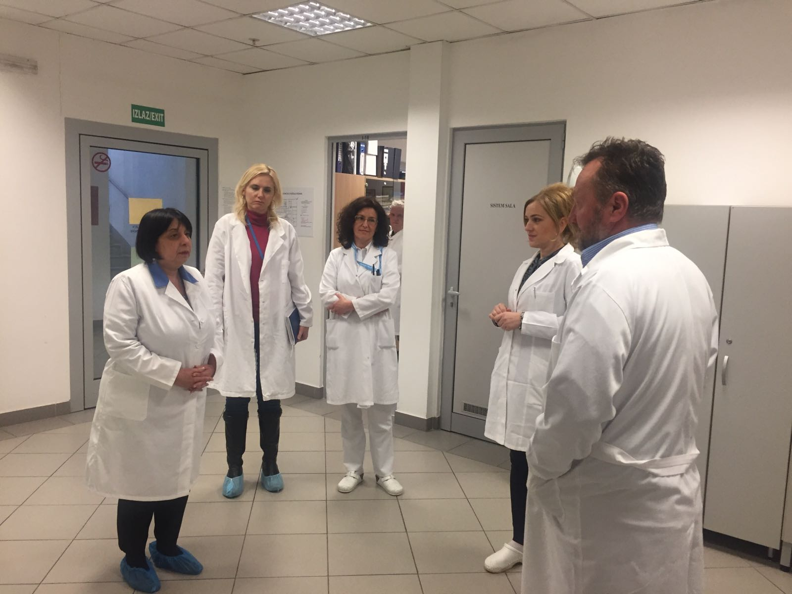 Visit of SECID's representatives to the laboratory