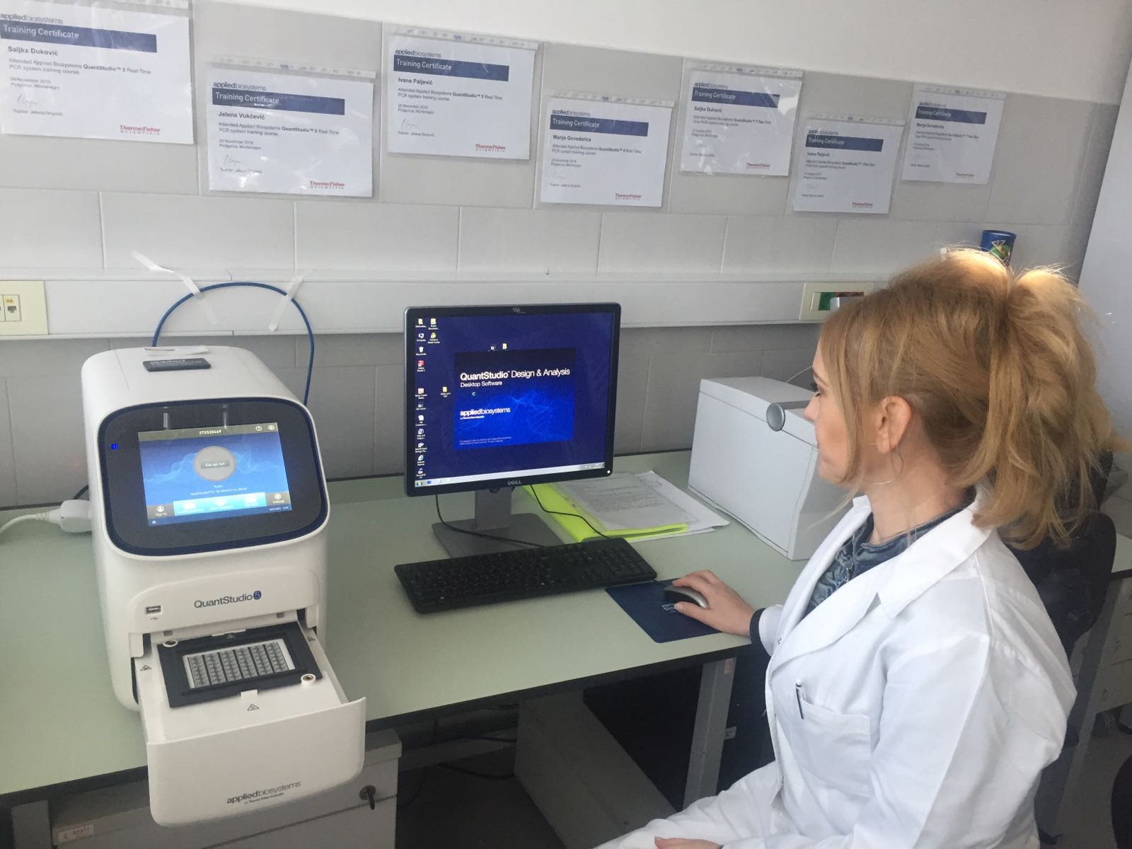 Equipment provided to the laboratory of IPH Podgorica, Montenegro