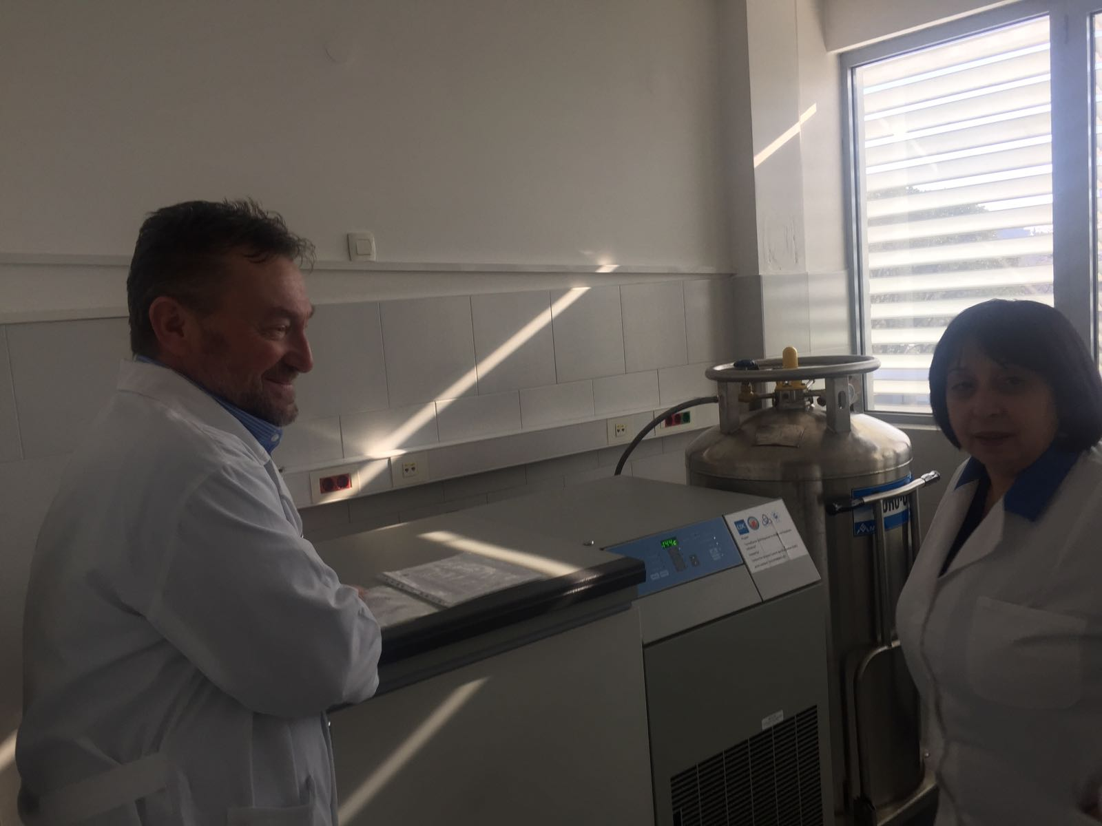 Visit to the laboratory of IPH Montenegro
