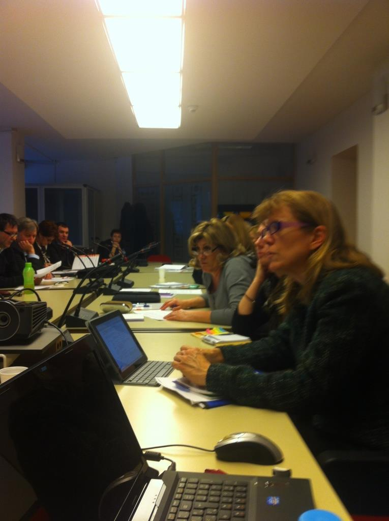 Mission of WHO & SECID and Workshop in Sarajevo, 11 March 2014