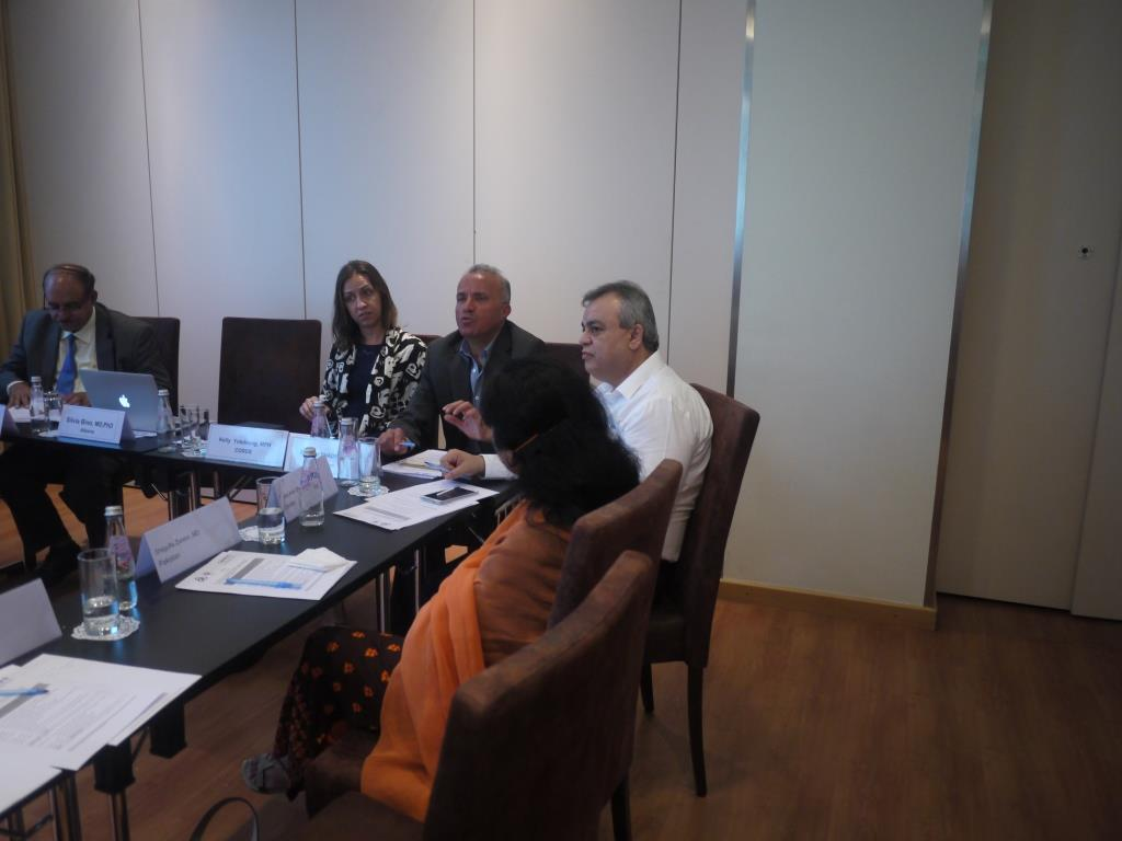 Kick-off Meeting on methodology and gap analysis on Leishmaniasis in Jordan, Albania and Pakistan – Tirana, Albania, 1 June 2015