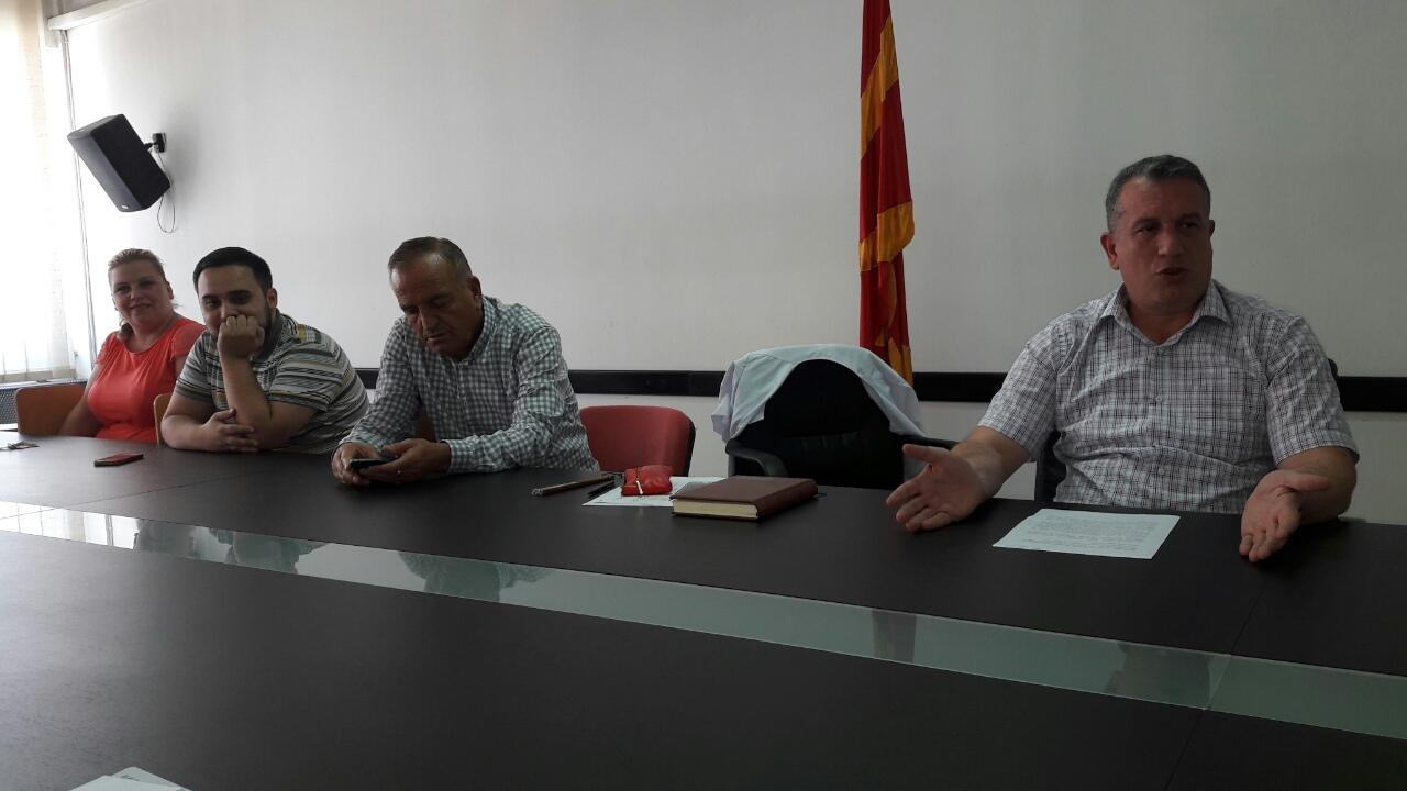 Macedonia, Coordination meeting between medical and veterinary experts, 27 July 2016
