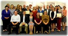 One year milestone Quality Assurance Mentoring Program Meeting and Biosafety Course, May 9-13, 2016