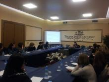 Meeting on Influenza Vaccine Coverage, Albania, 3 Feb. 2016