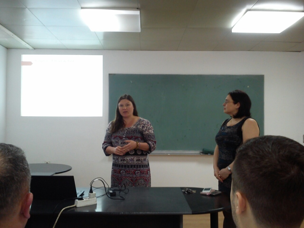 Macedonia, sentinel site visit and other activities,  March-July 2015
